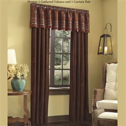 High Plains Tailored Wide Curtain Pair Port 100 x 84