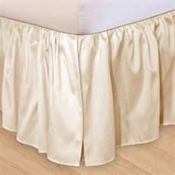 Hike Up Your Skirt(R) Ruffled Bedskirt Pearl