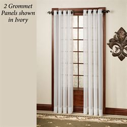 Oyster Bay Grommet Curtain Panel