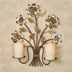 Bellissa Wall Candelabra Multi Metallic