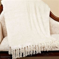 Luxurious Vanilla Throw