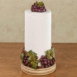 Beau Grape Harvest Paper Towel Holder