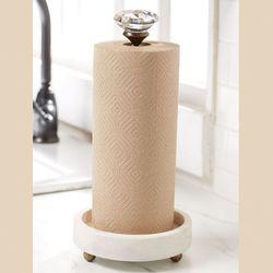 Circa Paper Towel Holder White