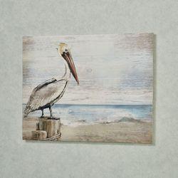 Pelican Wall Plaque Multi Cool