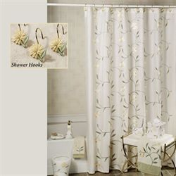 Penelope Shower Curtain Yellow