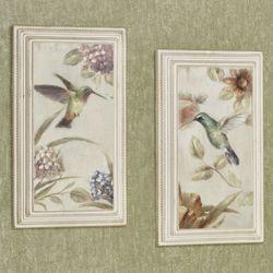 Sweetest Of All Hummingbird Wall Plaque Set