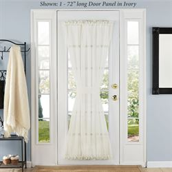 Elegance Sheer Door Panel