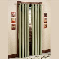 Oxford Pleat Grommet Curtain Panel
