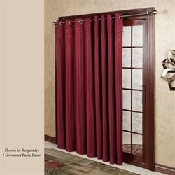 Oxford Pleat Grommet Patio Panel 108 x 84