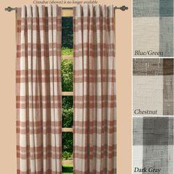 Shannon Plaid Curtain Panel