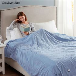 Beautyrest Electric Heated Channel Blanket