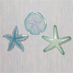 Tidal Gatherings Wall Accent Set Multi Pastel Set of Three