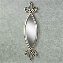 Hally Wall Mirror Silver