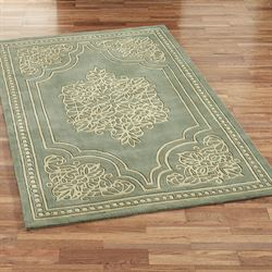 Florentia Lace Wool Area Rugs