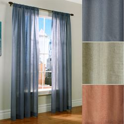 Weathervane Thermasheer(TM) Curtain Panel Linen