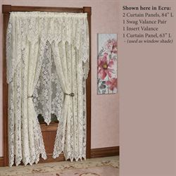 Dogwood Lace Tailored Panel