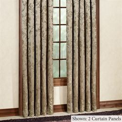 Dunluce Tailored Curtain Panel