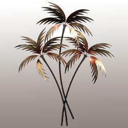 Gentle Palms Wall Sculpture Multi Warm