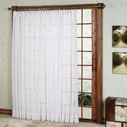 Splendor Pinch Pleat Patio Panel 96 x 84