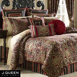 Roma Comforter Set Red