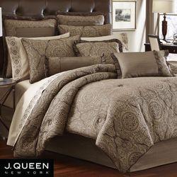 Villeroy Comforter Set Taupe