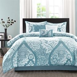 Kira Comforter Bed Set Glacier