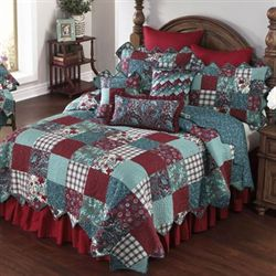 Abilene Patch Quilt Teal
