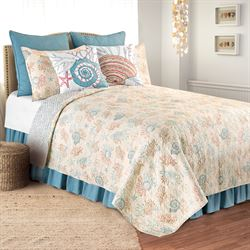 Seabrook Quilt Set Cream