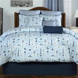 Belize Comforter Set Light Blue