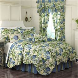 Floral Flourish Quilt Set Light Almond