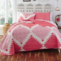 Kaleo Quilt Set Pink