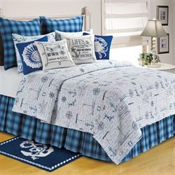 Fair Winds Quilt White