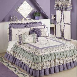 Serenade Grande Bedspread Wisteria