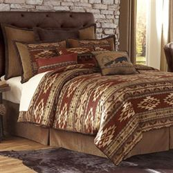 Sonorah Comforter Bed Set Ember Glow