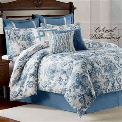 Randolph Comforter Set Steel Blue