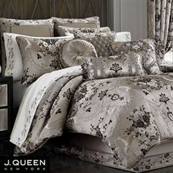 Alessandra Comforter Set Smoke Gray