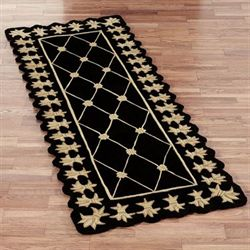 Onyx Empire Rug Runner