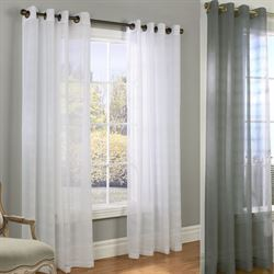 Encore Boucle Semi Sheer Grommet Curtain Panel