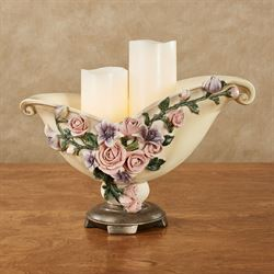 Summer Florals Decorative Centerpiece Bowl Multi Pastel