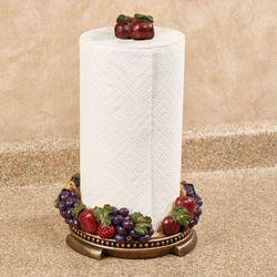 Tuscan Fruit Paper Towel Holder Multi Jewel