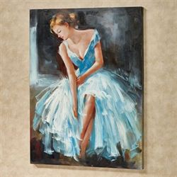 Lady Isadora Canvas Wall Art Multi Cool