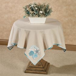 Seaview Table Topper Sand 42 Square