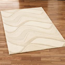 Waves Rectangle Rug