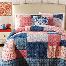Grace Patchwork Quilt Multi Bright