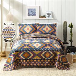 Nisreen Quilt Set Multi Warm