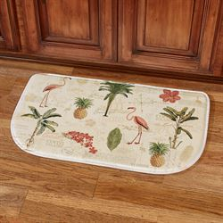 Floridian Toss Cushioned Slice Mat Light Cream 30 x 18