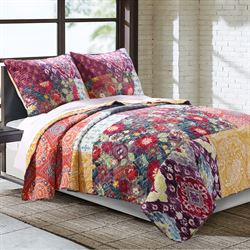 Samsara Quilt Set Multi Jewel