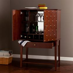 Morison Bar Cabinet Walnut