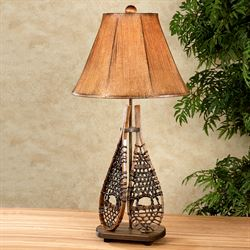 Snow Trek Table Lamp Brown