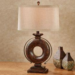 Soloman Table Lamp Golden Bronze